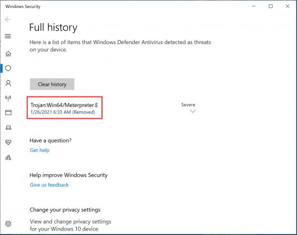 Bypassing Windows Defender