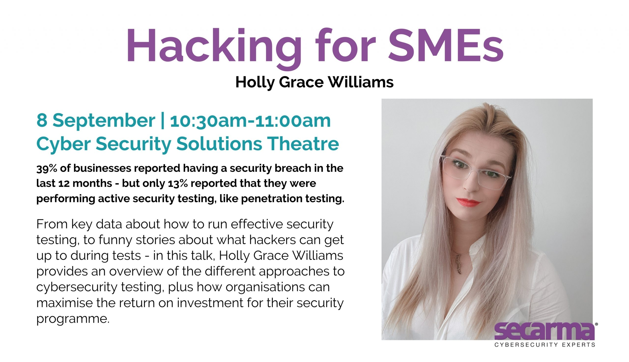 hacking for smes cybersecurity infosec
